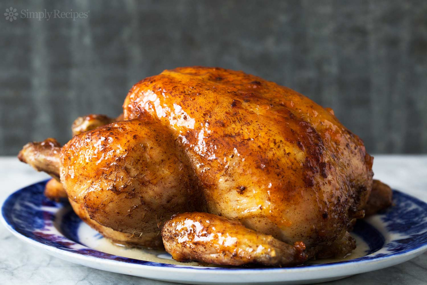 Roast Chicken with Apricot Glaze Recipe | SimplyRecipes