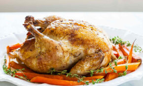 Roast Chicken With Carrots Recipe | SimplyRecipes