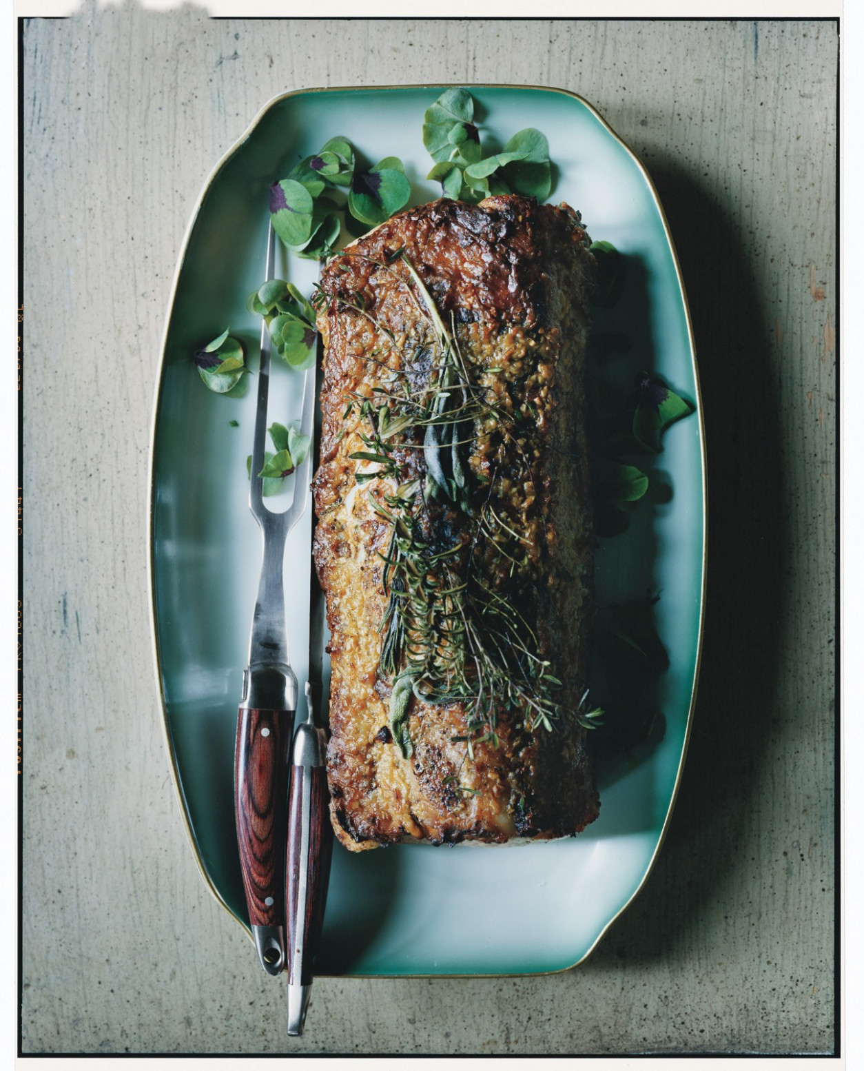 Roast Pork Loin With Garlic And Rosemary - Healthy Recipes Epicurious