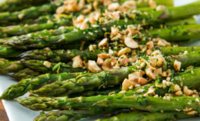 Roasted Asparagus With Hazelnut Gremolata – Vegetarian Recipes Asparagus