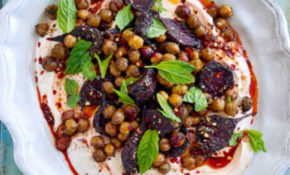 Roasted Beetroot With Za'atar, Chickpeas & Harissa Yogurt ..