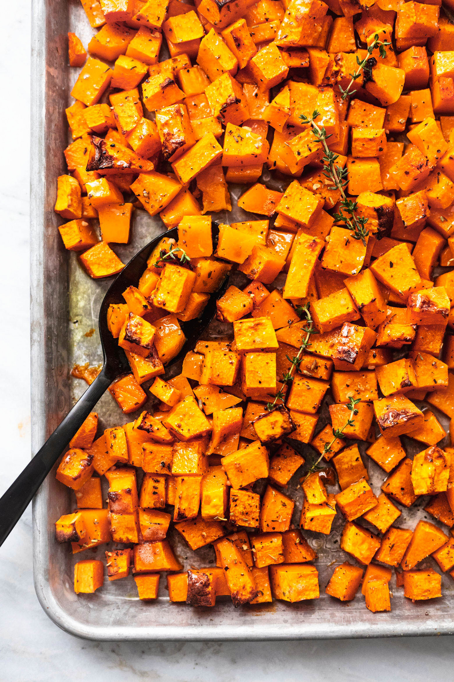 Roasted Butternut Squash - butternut squash recipes vegetarian