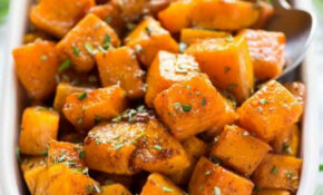 Roasted Butternut Squash   Cooking With Que – Recipes Butternut Squash Dinner