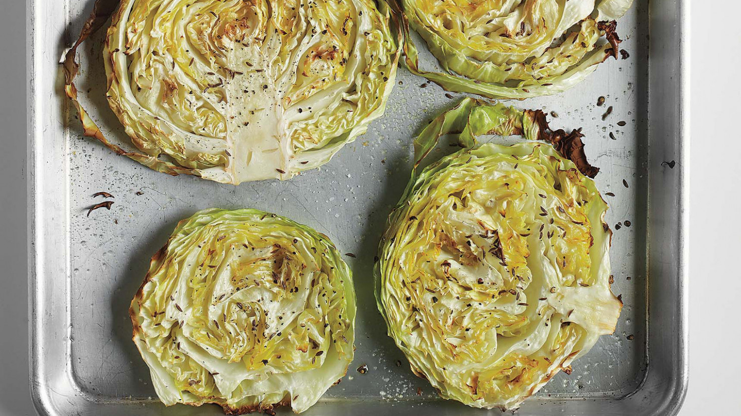 Roasted Cabbage Wedges - Recipes Salad Healthy