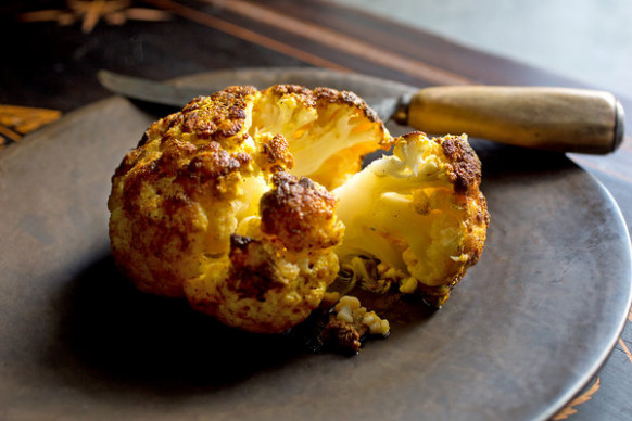 Roasted Cauliflower With Ras el Hanout Recipe - NYT Cooking - recipes using ras el hanout vegetarian