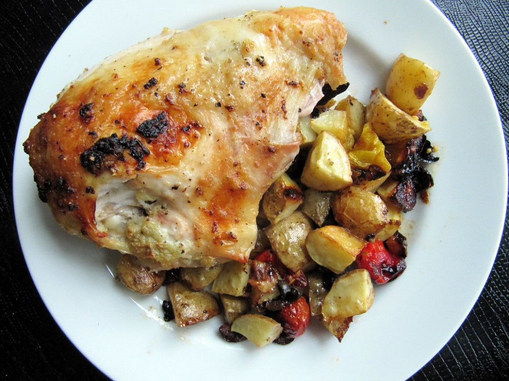 Roasted Chicken Breast - recipes with whole chicken