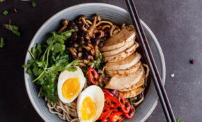 Roasted Chicken Ramen With Shimeji Mushrooms – Simply ..