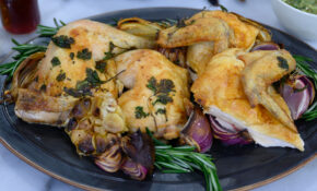 Roasted Chicken With Chimichurri Sauce – Leftover Roast Chicken Recipes