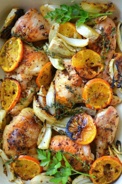 Roasted Chicken with Clementines | Recipe | FOOD ..