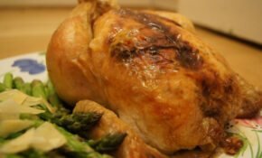 Roasted Chicken With Lemon And Shallot Asparagus – Recipes Asparagus And Chicken