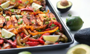 Roasted Halloumi Fajitas | Happy Veggie Kitchen – Recipes Vegetarian Favorite