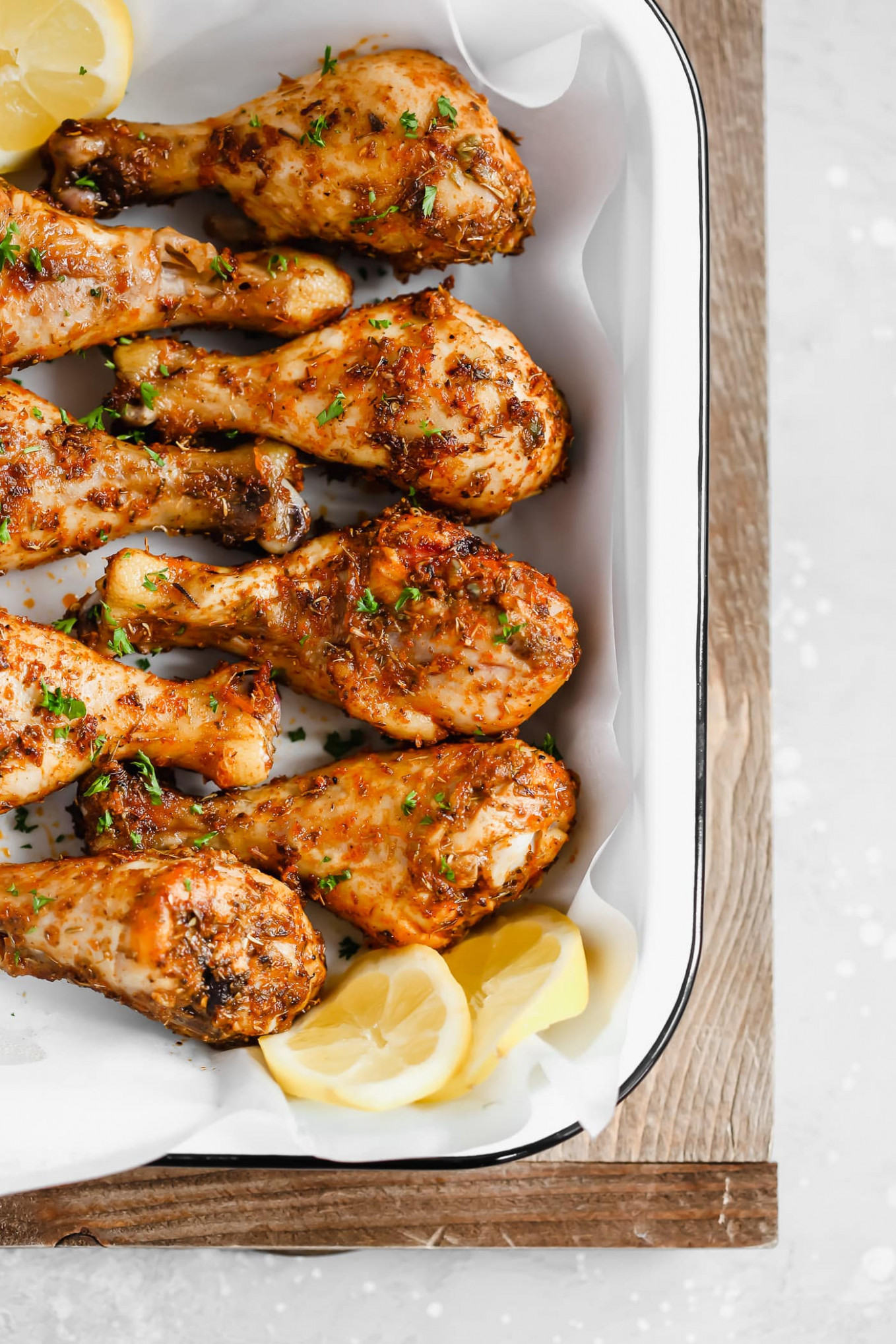 Roasted Lemon Chicken Legs - keto recipes chicken breast