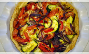Roasted Mediterranean Vegetable Tart Recipe – Eat.Love