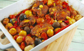 Roasted Middle Eastern Chicken With Potatoes – Recipes Middle Eastern Food