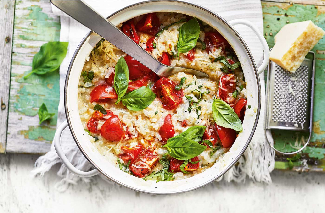 Roasted Tomato Risotto - Healthy Recipes Rice