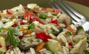 Roasted Vegetable And Orzo Salad – Orzo Recipes Vegetarian