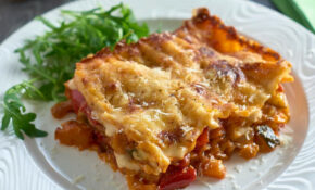 Roasted Vegetable Lasagne – Recipes Vegetarian Lasagne