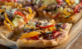 Roasted Vegetable Pizza – Recipes Vegetarian Pizza