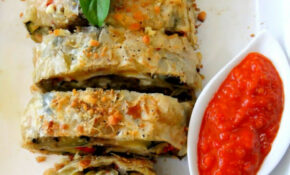 Roasted Vegetable Strudel and A Farewell to the Garden ...