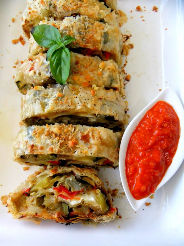 Roasted Vegetable Strudel And A Farewell To The Garden ..
