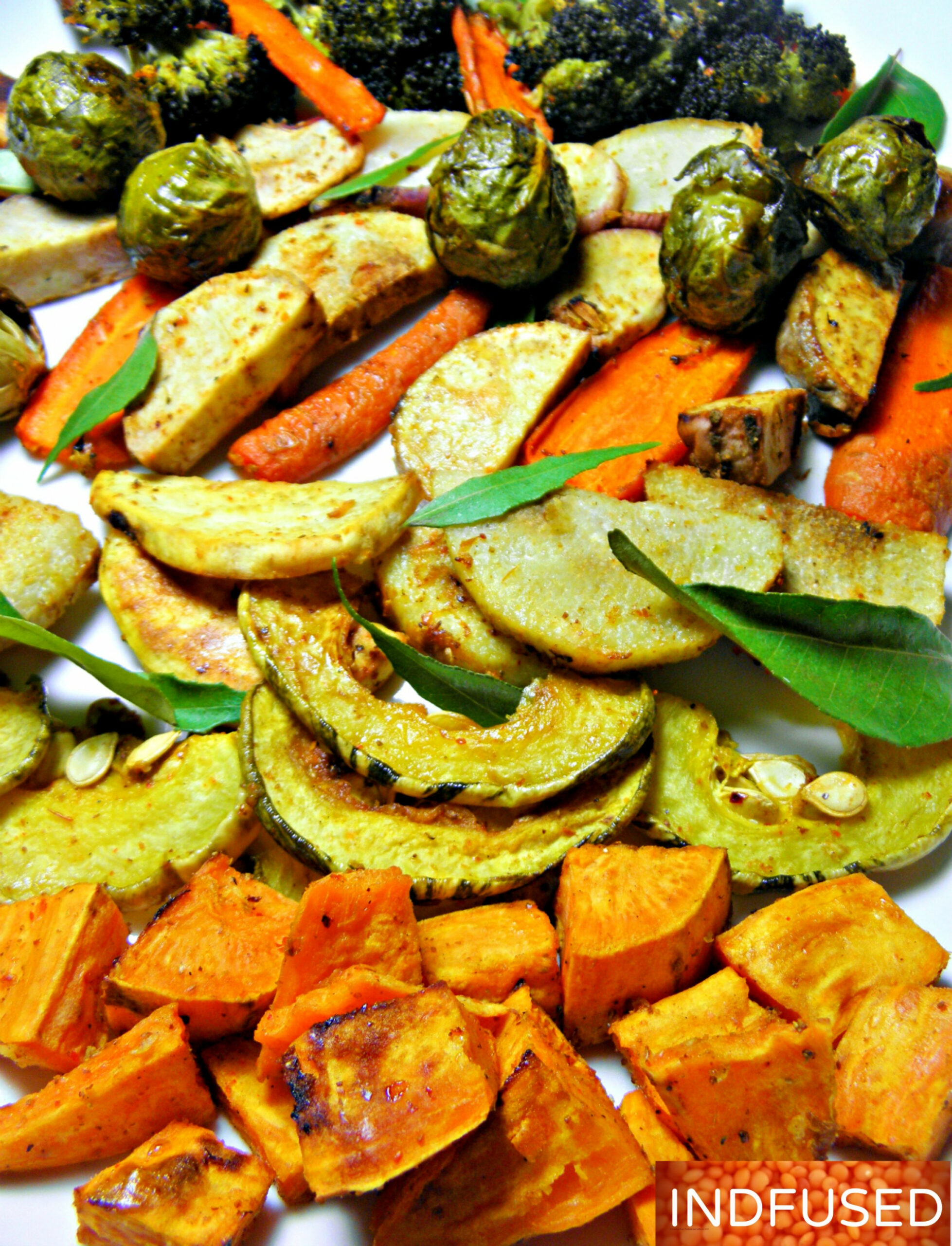 Roasted Vegetables With Garam Masala – Indian And Indian ..