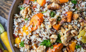 Roasted Winter Vegetable Quinoa Salad – Recipes Vegetarian Winter