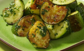 Roasted Zucchini & Pesto Recipe – EatingWell – Healthy Zucchini Recipes Side Dish