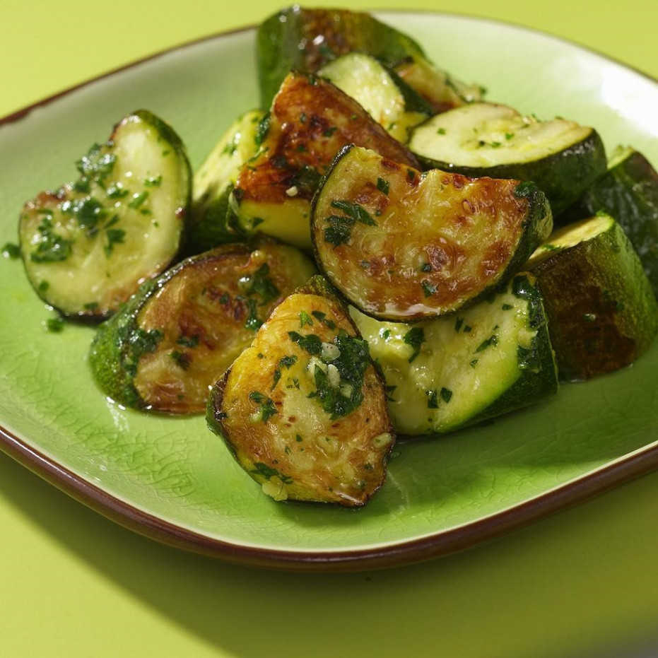 Roasted Zucchini & Pesto Recipe - EatingWell - Healthy Zucchini Recipes Side Dish