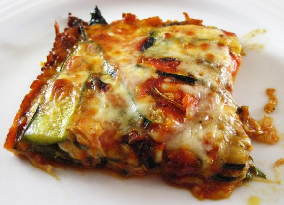 Roasted Zucchini Torta with Tomatoes and Mozzarella | In ..
