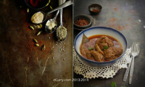 Rogan Josh Diptych 1 – North Indian Vegetarian Curry Recipes