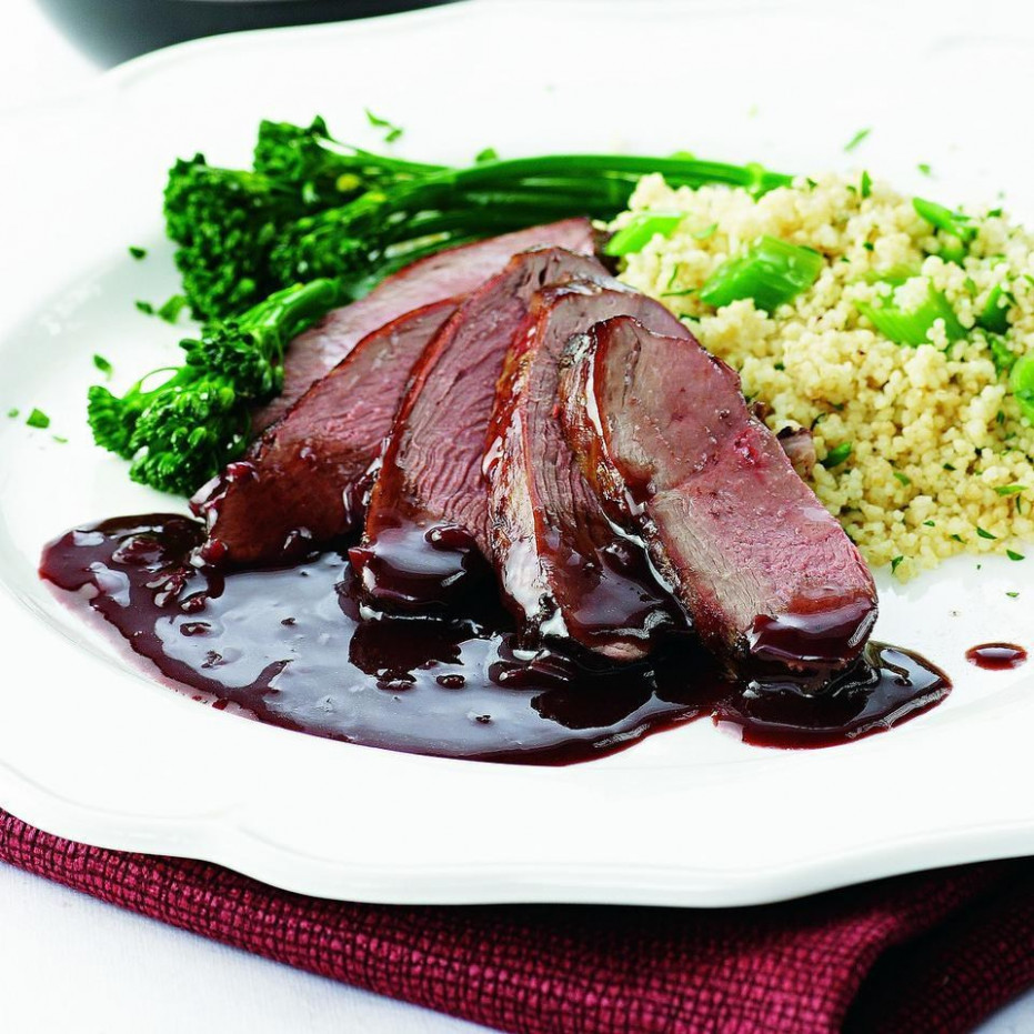 Romantic Dinner for Two Recipe: Pomegranate Duck - recipes romantic dinner