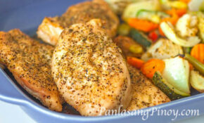 Rosemary Baked Chicken Recipe With Vegetables – Panlasang ..
