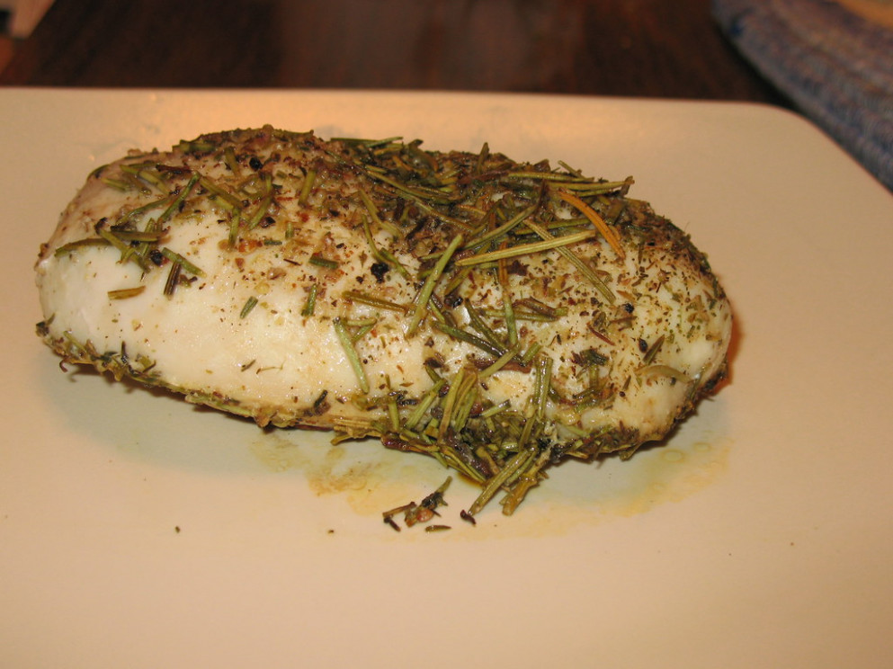 Rosemary Chicken - recipes you can make with chicken breast
