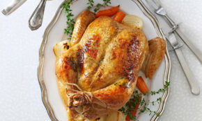 Rosemary Orange Roasted Chicken Recipe | Taste Of Home – Recipes In Chicken