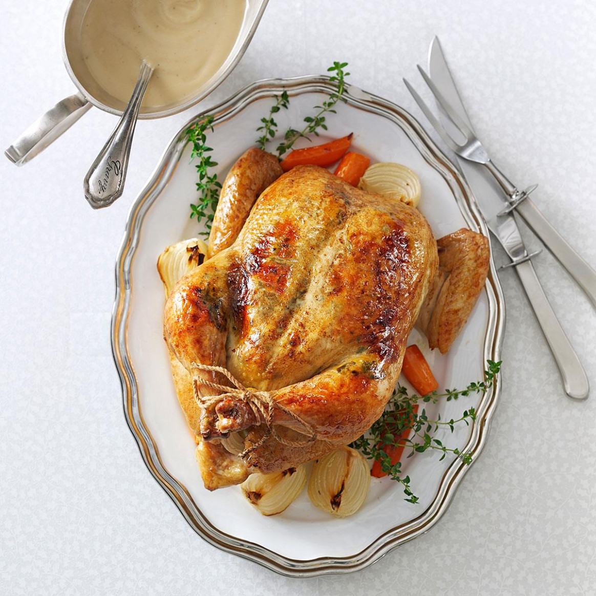 Rosemary Orange Roasted Chicken Recipe | Taste Of Home - Recipes In Chicken