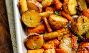 Rosemary Roasted Potatoes, Parsnips, Carrots and Onion ...