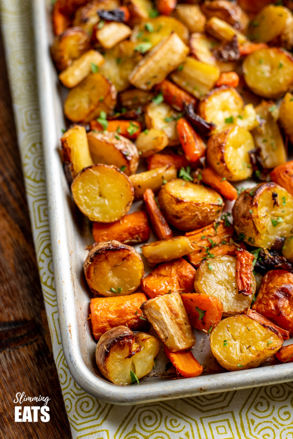 Rosemary Roasted Potatoes, Parsnips, Carrots and Onion ..