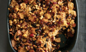 Rosemary Whole Wheat Stuffing With Figs And Hazelnuts – Rosemary Recipes Vegetarian