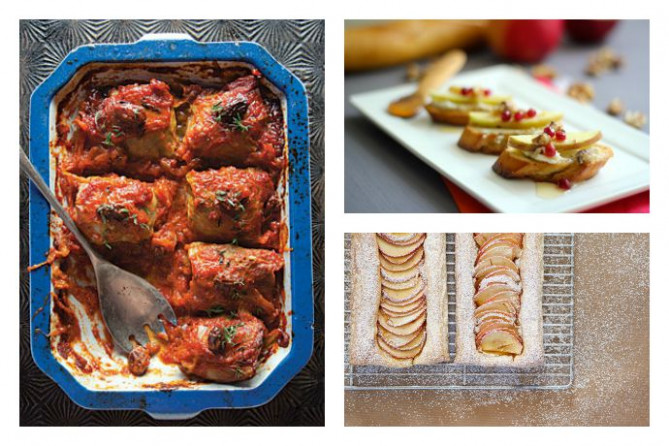 Rosh Hashanah recipes for a holiday meal or fall dinner party