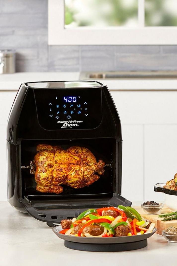 Rotisserie a chicken in the Power AirFryer Oven! Make the ..