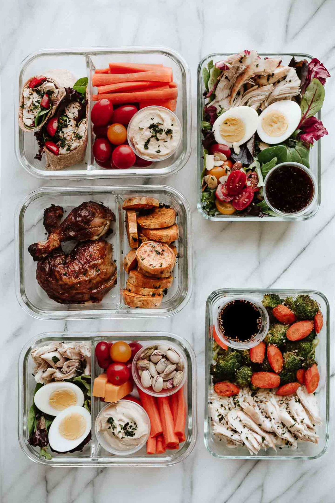 Rotisserie Chicken Meal Prep: 15 Easy Lunches | Amy in the ..