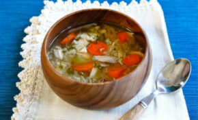 Rotisserie Chicken Rice Soup – Easy Healthy Recipe – Healthy Recipes Using Rotisserie Chicken