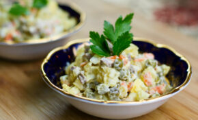 Russian Salad Recipe – Russian Food Recipes