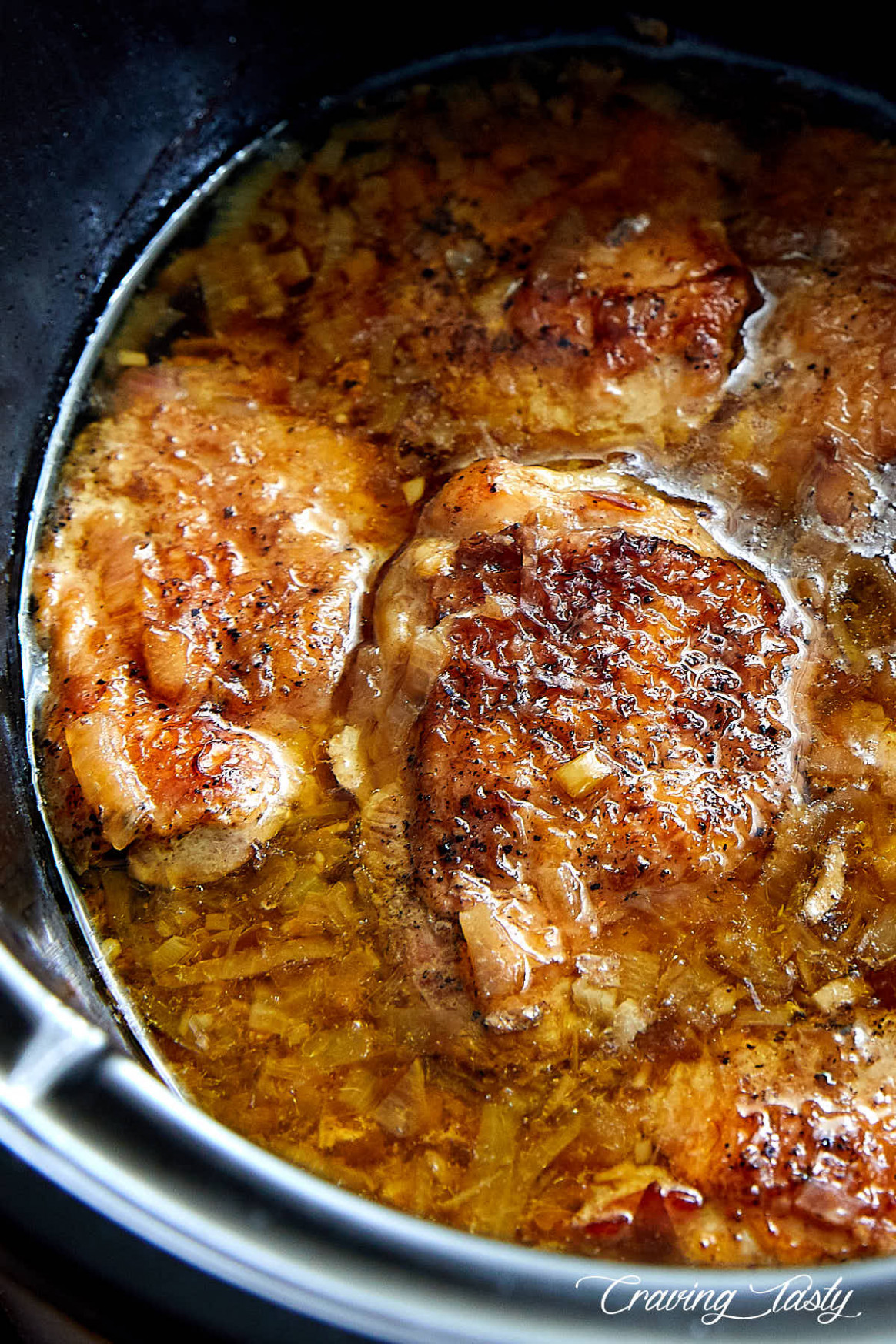 Rustic Slow Cooker Chicken - chicken recipes in slow cooker