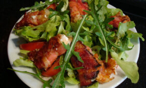 Salad, Bacon, Eat, Appetite, Rocket – Recipes Of Healthy Salads