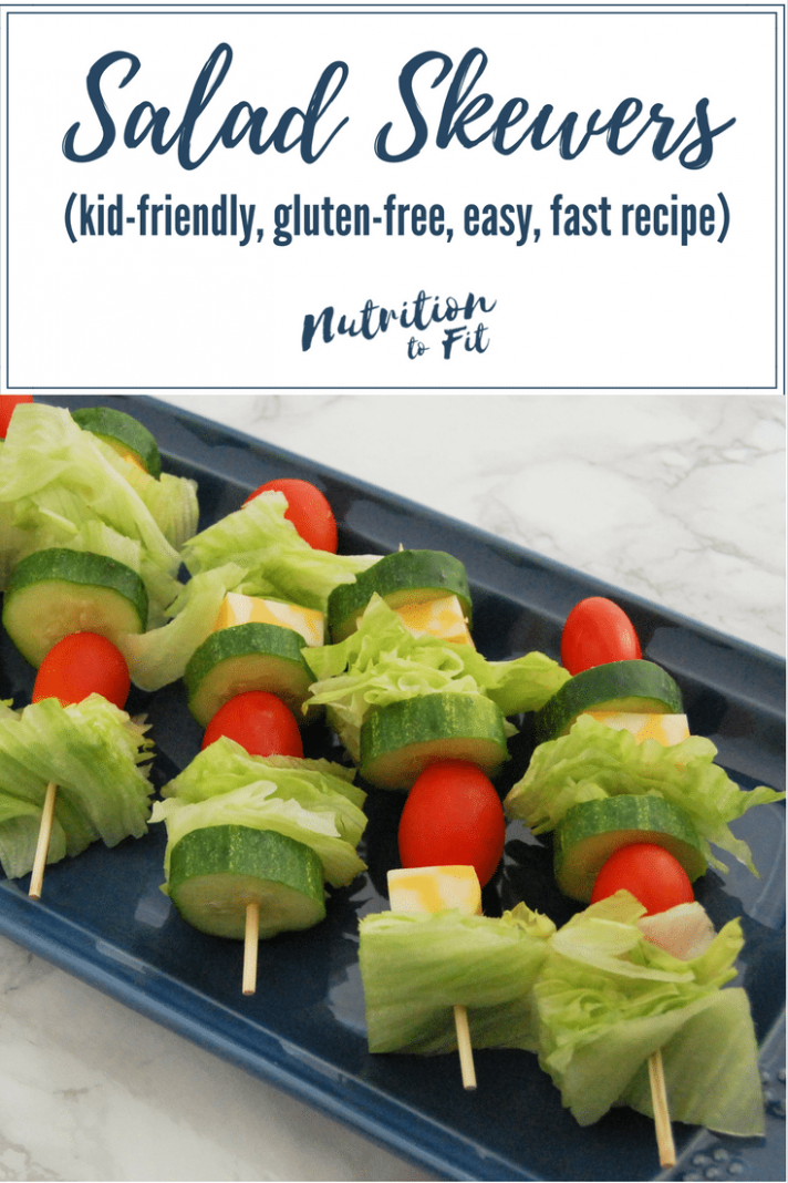 Salad Skewers | Nutrition To Fit - Healthy Recipes Ingredients On Hand