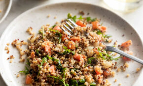 Salmon Quinoa Salad With Balsamic Vinaigrette – Food Recipes Quinoa
