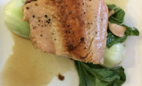Salmon With Bok Choy And Ginger Beer | Recipe: Www.washingto ..