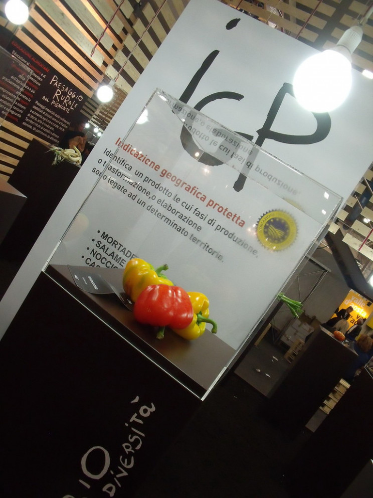 Salone Del Gusto - Museum Of Local Products (we're Strong In Thistles And Peppers..