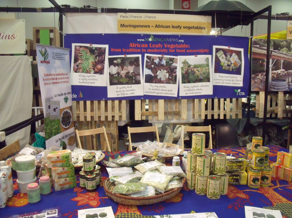 Salone del gusto - one stand of Africa - kenyan food recipes